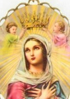 Our Lady we crown you with our Hail Mary's each day!