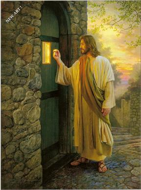 Jesus is knocking, please join him in prayers!